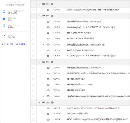 ユーザーエクスプローラーに関する分析の画像
