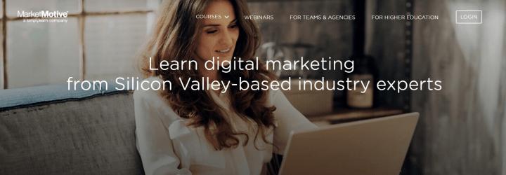 デジタルマーケティング勉強に活用できるMarket Motive