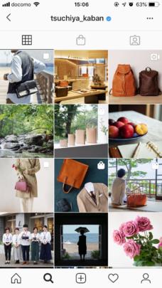 土屋鞄製造所のInstagramの参考画像