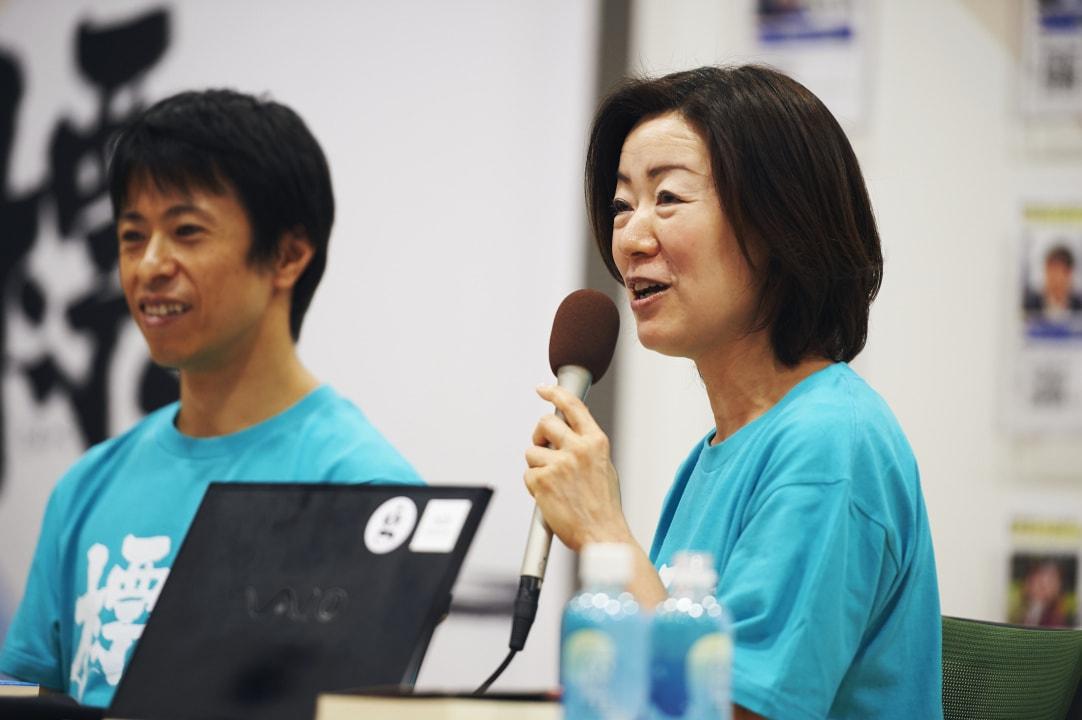 セッション風景_株式会社シナプス村上氏とSATORI株式会社植山