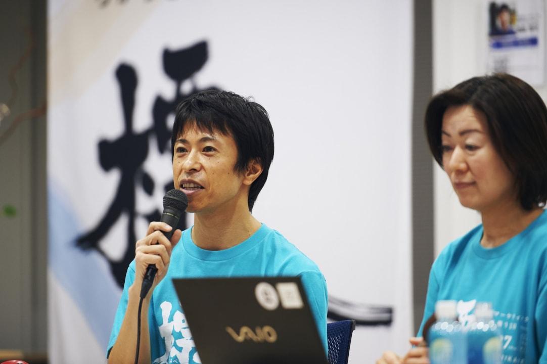 セッション風景_株式会社シナプス村上氏とSATORI株式会社植山よりマーケターが時代に取り残されないために