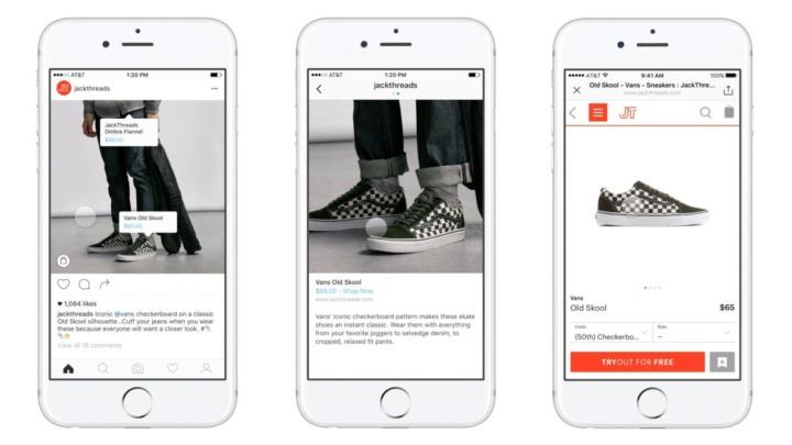 ファッション業界のインスタグラム・マーケティングに使われているショッピング機能