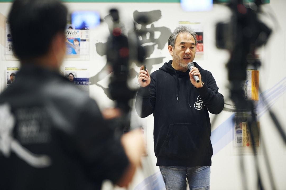 セッション風景_カメラ越しのNiantic, Inc._足立 光 氏